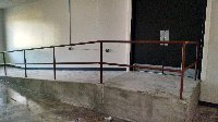 Ramp railings for concrete ramp Picture 1